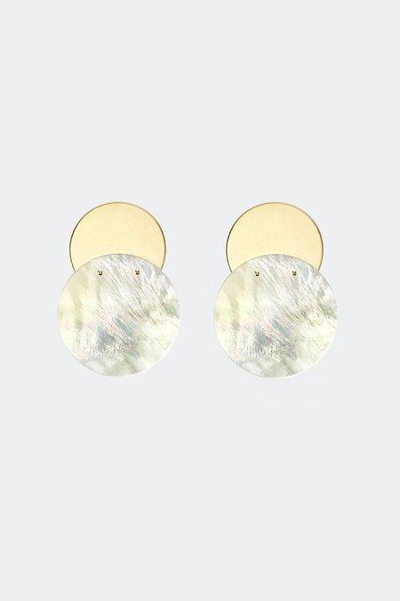 Gabriela Artigas & Company Mother Clip-On Earrings