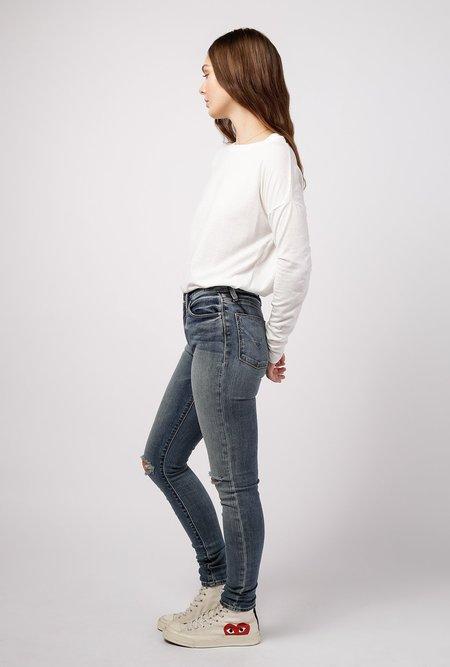 Azalea Drop Shoulder LS Top - Cream