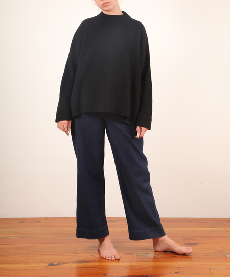 Revisited Malena Sweater - Black