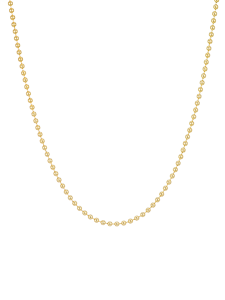 Ariel Gordon Spot Chain Necklace - Gold