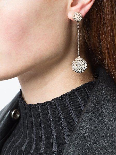 Bea Bongiasca Rice Ball Drop Earrings - Sterling Silver