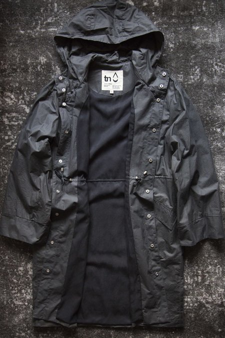 Unisex Trevor Nathan 1st Production Raincoat - Charcoal/Black