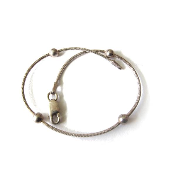 Sterling Ball Bracelet