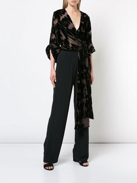 Veronique Leroy Wide Leg Trousers - Black