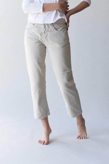 6397 Shorty Jeans - Stone