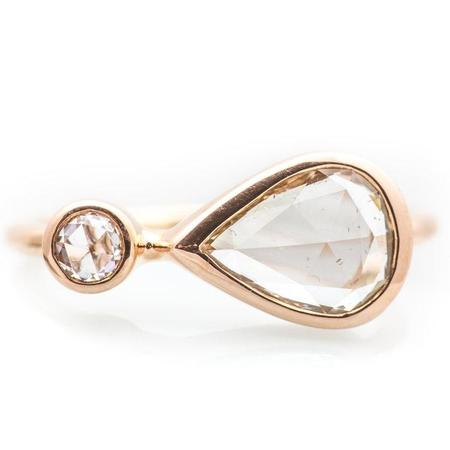 Boudov Large Orbit Ring - Rose Gold