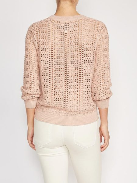 Brochu Walker Dilay Crochet Pullover - Reverie