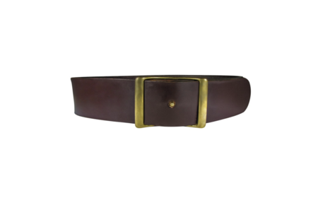 "C.S. Simko Belt 1.5"" - Burgundy"