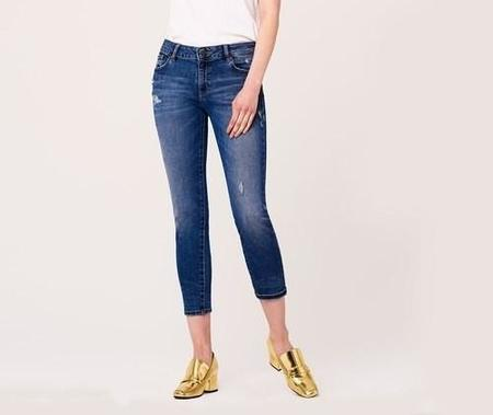 DL 1961 Davis Girlfriend Jeans - Plymouth