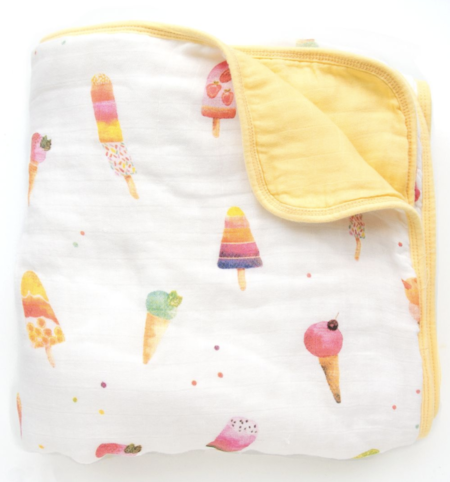 Kids Loulou Lollipop Deluxe Bamboo Quilt