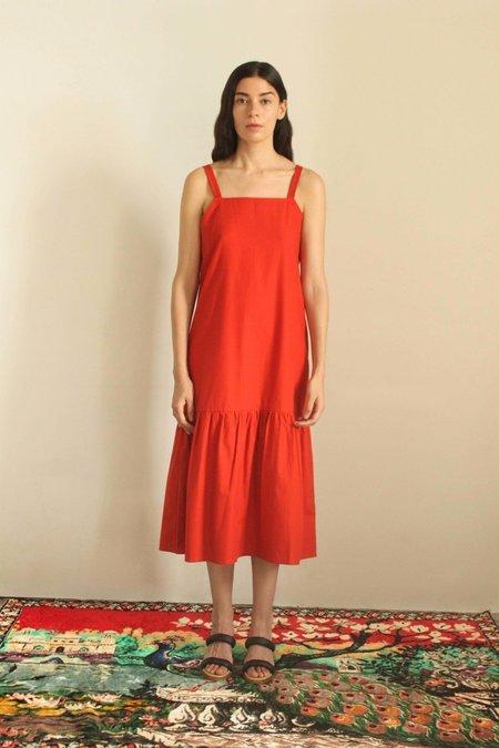 Delfina Balda Ula Dress - Tomato