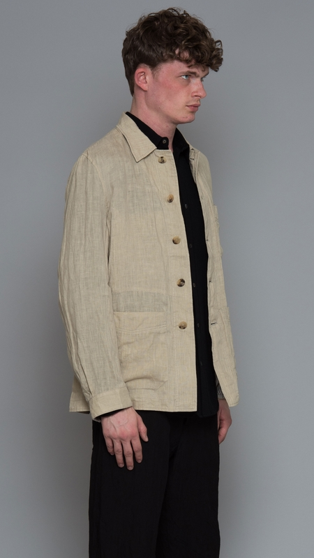 Forme D'Expression French Work Jacket - Dune