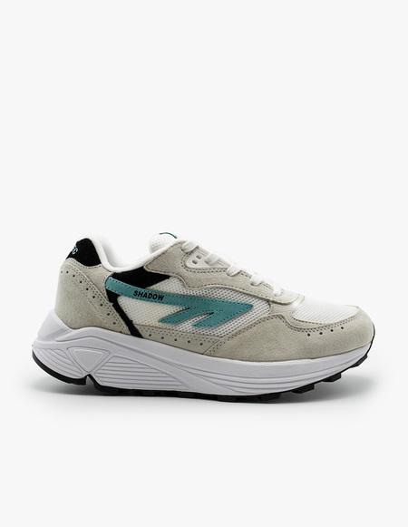 Hi-Tec HTS Silver Shadow RGS sneaker - Bone White/Blue Turquoise/Black