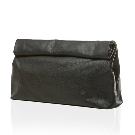 Marie Turnor Dinner Clutch - Pebble Black