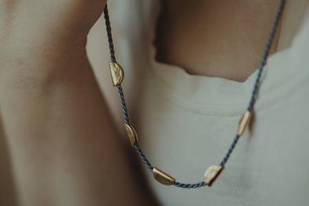 Takara Half Moon Necklace