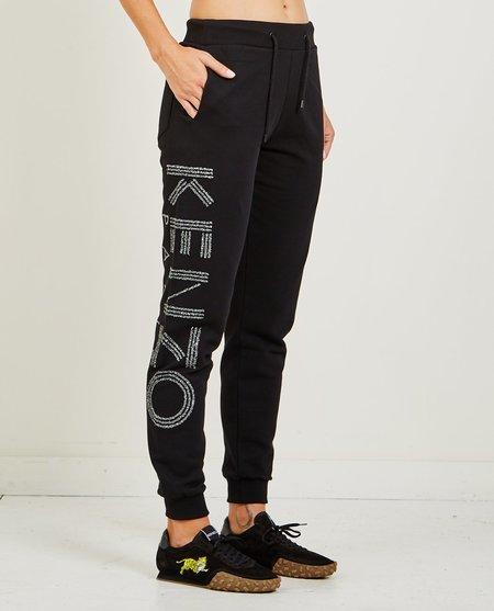 Kenzo Glitter Sport Jog Pants - Black
