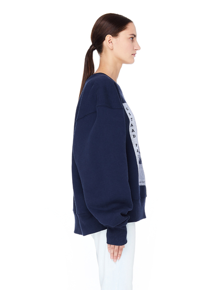 Enfants Riches Deprimes Gstaad Palace Sweatshirt - Navy Blue