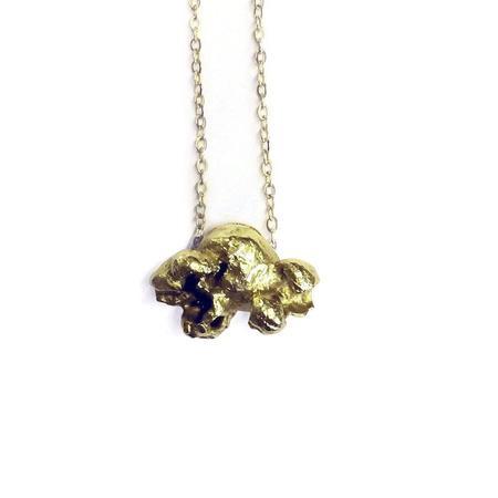 Ale Bremer Caramel Popcorn Necklace - Brass
