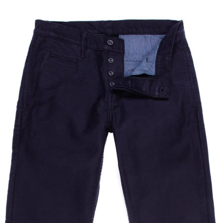 Left Field NYC N1 Deck Cord Chino - Navy