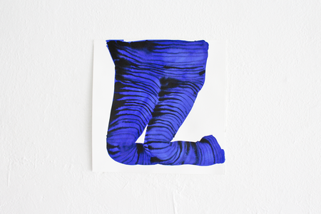Emma Kohlmann Untitled Legs Painting - Blue