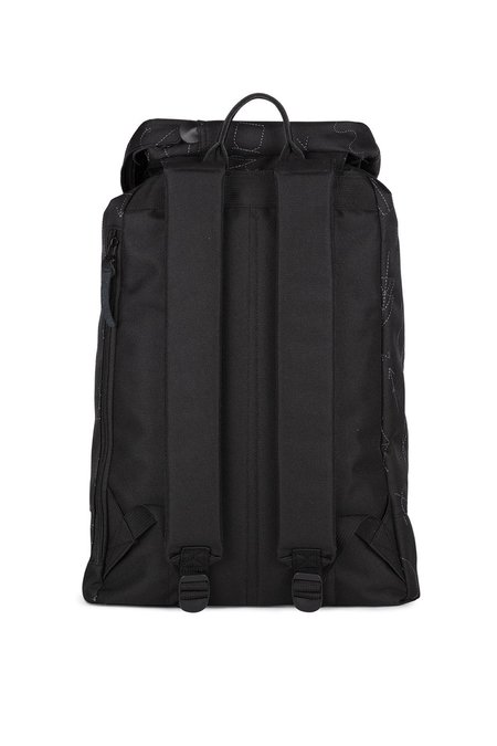UNISEX The Pack Society EMBROIDERY PREMIUM BACKPACK - BLACK