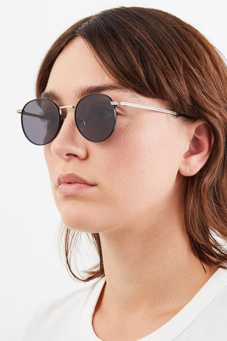 unisex KOMONO The Taylor eyewear - Silver/Black