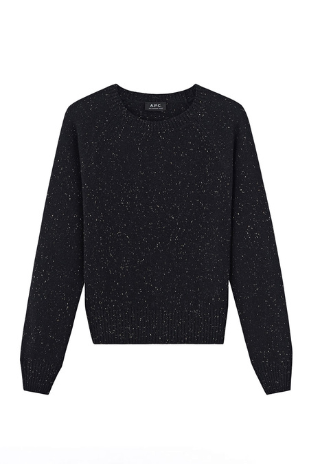 A.P.C. PULL STIRLING SWEATER  - NOIR