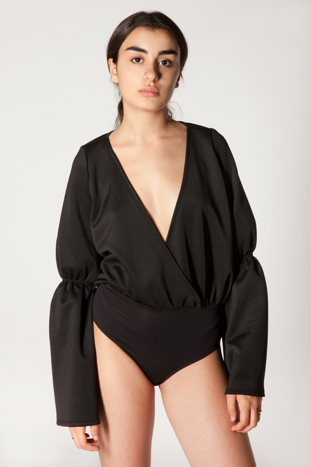 Fantabody Just Bodysuit - Black