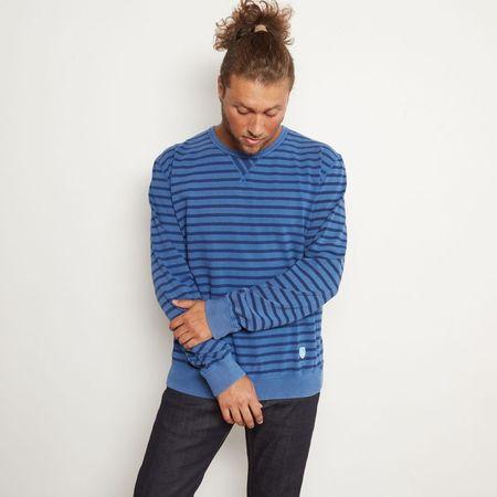 CLOSED Striped Pullover - Indigo Blue
