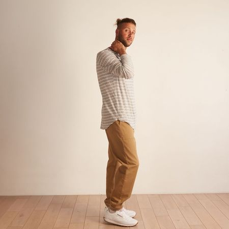 Sol Angeles Peppered Crew - Stripe