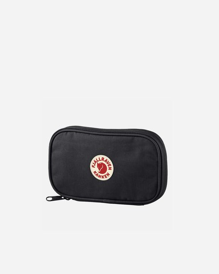 Unisex Fjallraven Kanken Travel Wallet - Black