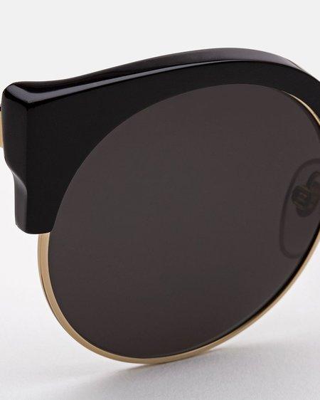 Super Ilaria Sunglasses - Black