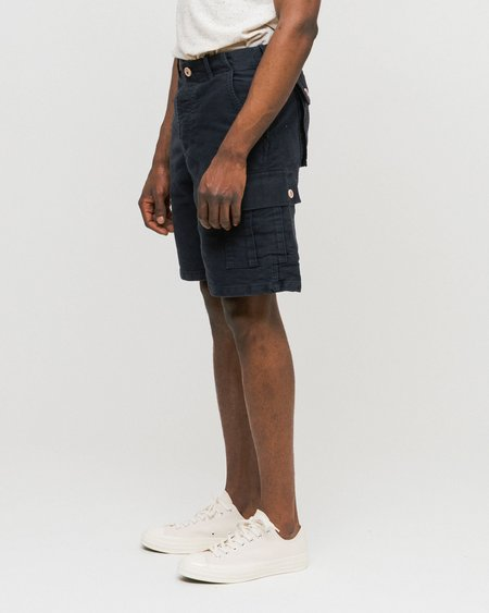 Bleu De Paname Mecano Short Pant - Bleu Paname