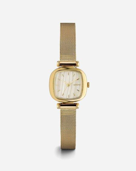 Komono Moneypenny Royale Watch - Gold/White