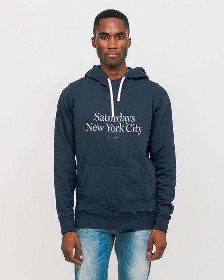 Saturdays NYC Ditch Miller Standard Sweatshirt - Midnight