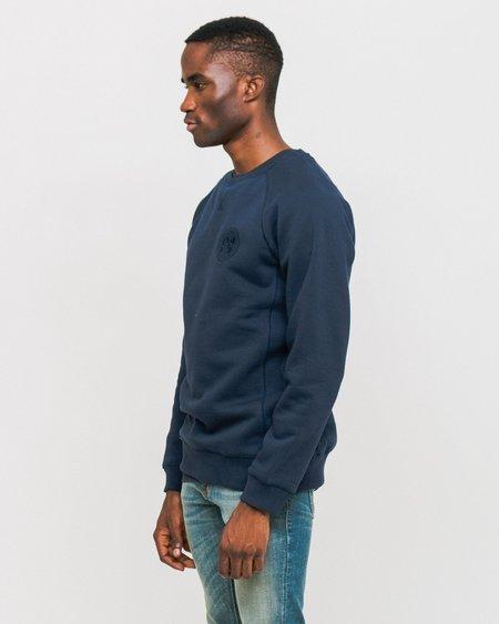 Soulland Lisner Sweatshirt - Navy