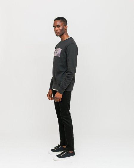 Unisex Nudie Jeans Lean Dean Jeans - Dry Everblack