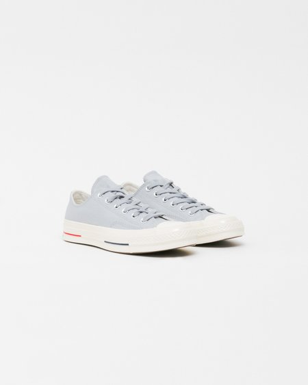 Unisex Converse Chuck Taylor All Star '70 OX Shoes - Wolf Grey/Navy/Gym Red