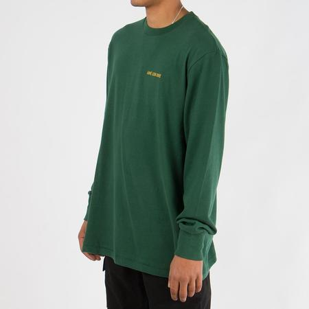 Aimé Leon Dore Long Sleeve Logo T-shirt - Green