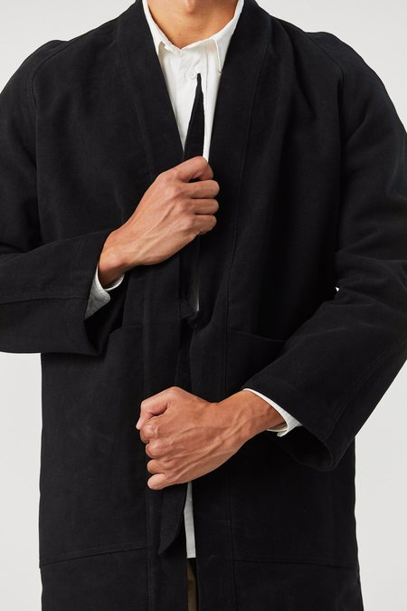 House of St. Clair WEST VILLAGE ROBE - BLACK