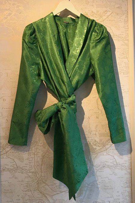 Dodo Bar Or Merilyn Wrap Shirt - Green