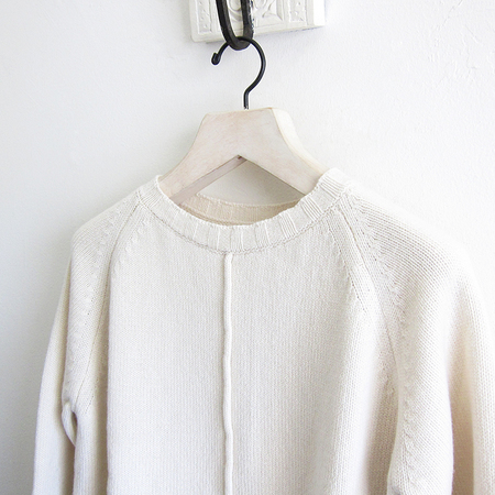 MJ Watson Cashmere Pullover - Off White