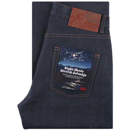 Naked & Famous Strong Guy Fit Nightshade Stretch Selvedge