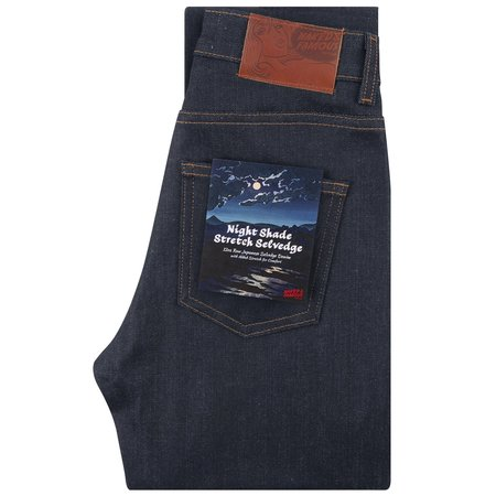 Unisex Naked & Famous High Skinny Fit Nightshade Stretch Selvedge