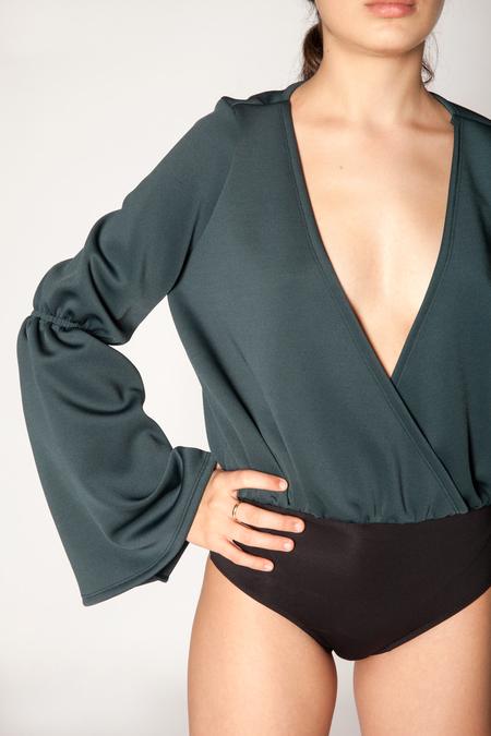 Fantabody Just Bodysuit - Green