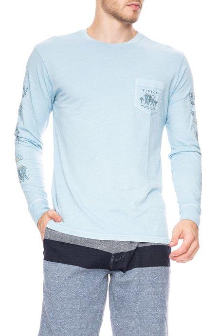 Vissla Genie Long Sleeve T-Shirt - Ice Blue