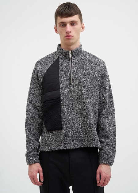 Siki Im Patch Turtleneck - Grey