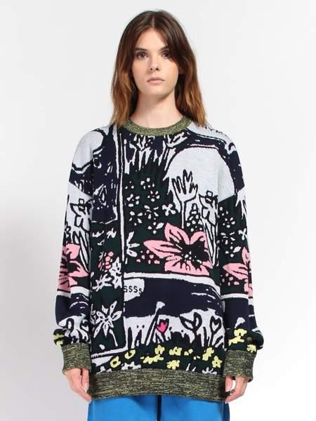 Unisex Anntian Comic Sweater