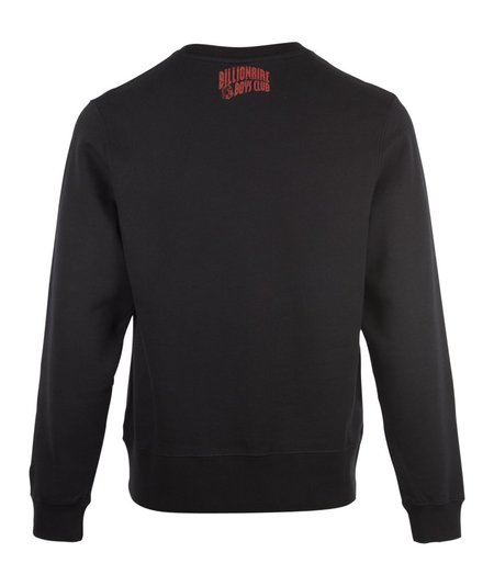 Billionaire Boys Club Pennant Applique Crewneck Sweat - Black