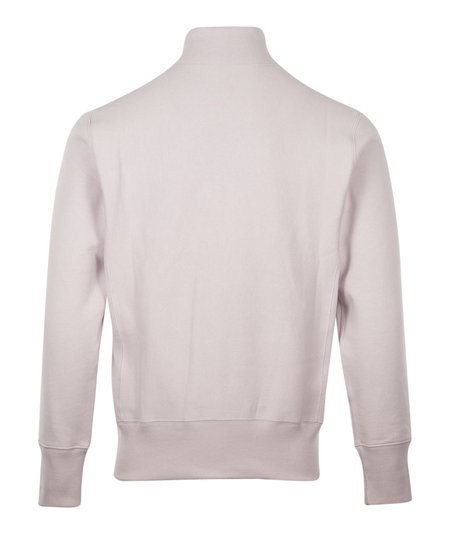 Champion Small Script Half Zip Sweat - Lilac